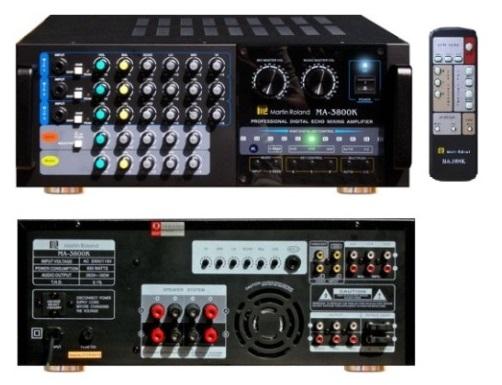 Ma3800 760w Karaoke Amplifier