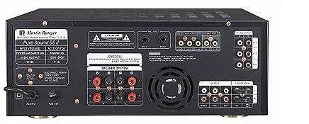 Pure Sound 55 Digital Echo Mixing Karaoke Amplifier